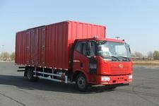 一汽解放国五7.7米厢式货车