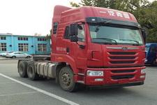 解放后双桥,后八轮平头柴油牵引车350马力(CA4256P2K15T1E5A80)