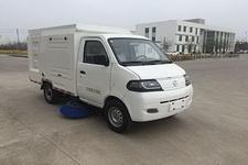 达福迪牌JAX5024TSLBEVF266LB15M1T1型纯电动扫路车图片