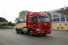 解放牌CA4250P66K24T1A1E5型平头柴油半挂牵引汽车图片