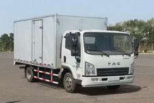 一汽凌河牌CAL5041XXYDCRE5型厢式运输车图片