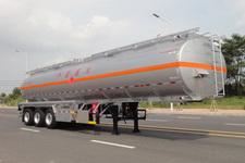 永强牌YQ9400GRYT2型铝合金易燃液体罐式运输半挂车图片