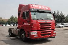 解放单桥平头柴油牵引车350马力(CA4186P2K15E5A80)