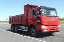 解放牌CA3250P66K2L0T1A1E5型平头柴油自卸汽车图片