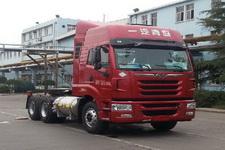解放牌CA4259P2K15T1NE5A80型平头天然气牵引车图片