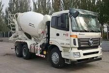 欧曼牌BJ5253GJB-AA型混凝土搅拌运输车