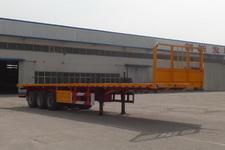 万荣牌CWR9400TPB型平板运输半挂车