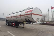 鲁西牌LXZ9403GRY型易燃液体罐式运输半挂车图片