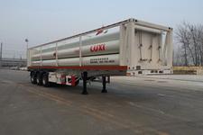 鲁西牌LXZ9390GGY型液压子站高压气体长管半挂车图片