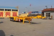 通亚达牌CTY9382TJZG40型集装箱运输半挂车图片