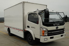 十通牌STQ5041XXYNBEV型纯电动厢式运输车图片