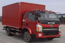 十通牌STQ5162XXYN5型厢式运输车图片
