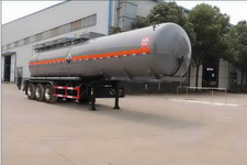 醒狮牌SLS9406GFW型腐蚀性物品罐式运输半挂车图片