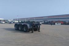 东润牌WSH9405TJZ型集装箱运输半挂车图片