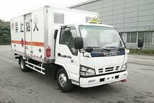庆铃牌QL5040XRQA5HAJ型易燃气体厢式运输车图片