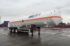 中集11.6米27.2吨3轴低温液体运输半挂车(NTV9401GDYD)