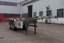聚运达牌LZY9400TJZ型集装箱运输半挂车图片