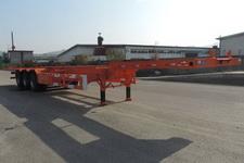 鑫华驰14米33.9吨3轴集装箱运输半挂车(THD9404TJZ)