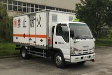 庆铃牌QL5040XRYA6HAJ型易燃液体厢式运输车图片
