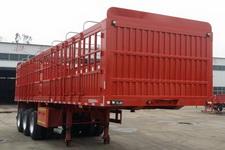 龙亿达牌CYL9373CCY型仓栅式运输半挂车图片
