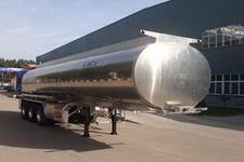 明航牌ZPS9407GSY型铝合金食用油运输半挂车图片