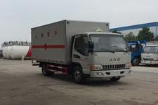 程力威牌CLW5070XRQH5型易燃气体厢式运输车