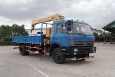 嘉龙牌DNC5180JSQG-50型随车起重运输车图片