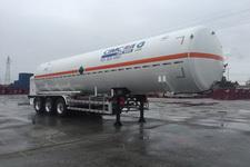 中集11.7米26.7吨3轴低温液体运输半挂车(NTV9401GDYC)