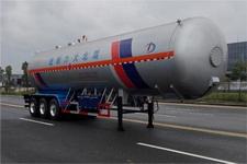 大力13米28吨3轴液化气体运输半挂车(DLQ9400GYQSZ5)