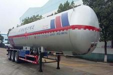 程力威13米24.5吨3轴液化气体运输半挂车(CLW9406GYQB)