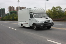 南京依维柯LED流动广告宣传舞台车中小型蓝牌汽柴油版程力厂家直销价格