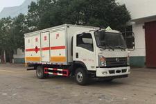 程力威牌CLW5070XRQE5型易燃气体厢式运输车