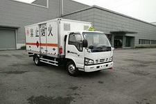 庆铃牌QL5040XRYA5HAJ型易燃液体厢式运输车图片