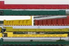 海福龙牌PC3040LZ5D型自卸汽车图片