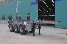 梁郓牌SLY9382TJZ型集装箱运输半挂车图片