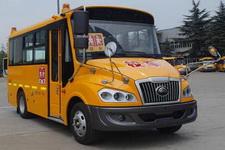 宇通牌ZK6579DX529型小学生专用校车图片