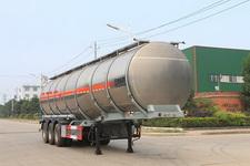 特运牌DTA9402GRYA型铝合金易燃液体罐式运输半挂车图片