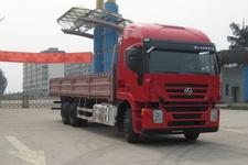 红岩后双桥,后八轮货车350马力13吨(CQ1255HTG594)