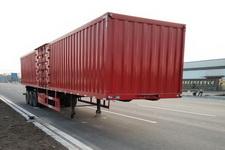 通勤12米32吨3轴厢式运输半挂车(TDG9400XXY)