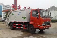 中汽力威牌HLW5140ZYS5EQ型压缩式垃圾车
