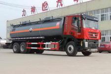 醒狮牌SLS5250GFWH4型腐蚀性物品罐式运输车