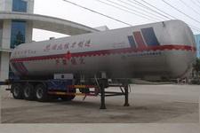 程力威牌CLW9408GYQB型液化气体运输半挂车