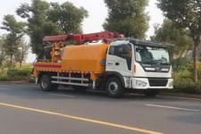 五新牌WUX5161TPJ25型混凝土喷浆车图片