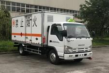 庆铃牌QL5040XRQA6HAJ型易燃气体厢式运输车图片