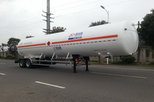圣达因牌SDY9350GDYT型低温液体运输半挂车图片