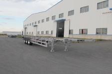 丛林牌LCL9402TJZ型铝合金集装箱运输半挂车图片