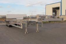丛林牌LCL9403TJZ型铝合金集装箱运输半挂车图片