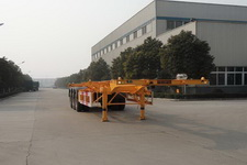 华威驰乐12.4米33.7吨3轴集装箱运输半挂车(SGZ9406TJZ)