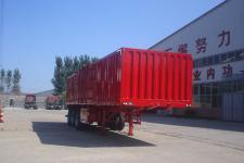 鲁驰牌LC9381XXY型厢式运输半挂车图片