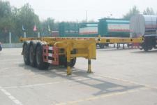 华昌牌QDJ9400TJZG型骨架式集装箱运输半挂车图片